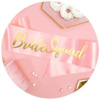 BRIDE TO BE - GULD & ROSA