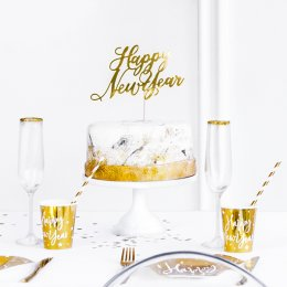 CAKE TOPPER | happy new year