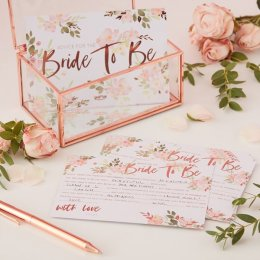 ADVICE CARDS | team bride - blommor