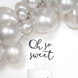 CAKE TOPPER | oh so sweet