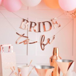 BANNER | bride to be - rosé