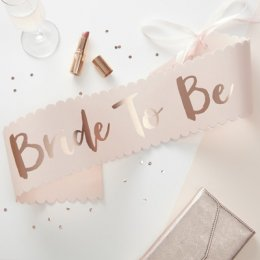 BRIDE TO BE SASH | rosa
