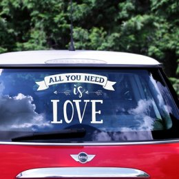 STICKERS | all you need is love