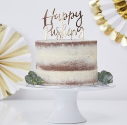 CAKE TOPPER | happy pushing