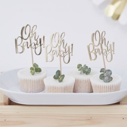 CUPCAKE TOPPERS | oh baby!