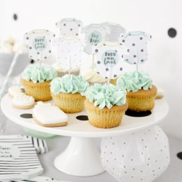 CUPCAKE TOPPERS | born to be loved