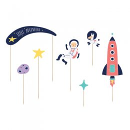 CAKE TOPPERS | space