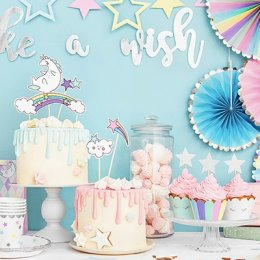 CAKE TOPPERS | unicorn