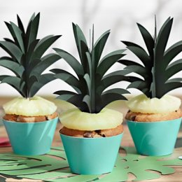 CUPCAKE TOPPERS | ananas