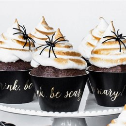 CUPCAKE WRAPPERS | halloween