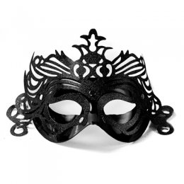 MASK | ornament - svart