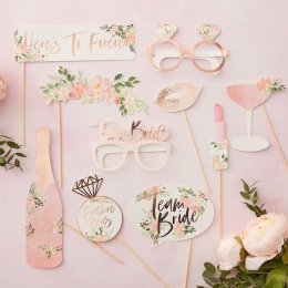 PHOTO PROPS | team bride - blommor