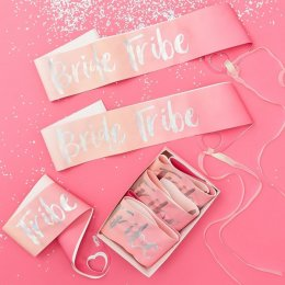 SASHES 6-PACK | bride tribe