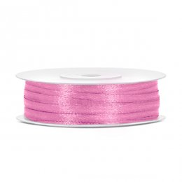SATINBAND 3 mm | rosa