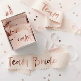 SASHES 6-PACK | team bride