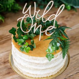 CAKE TOPPER | wild one