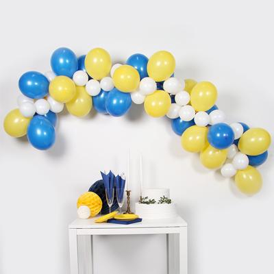1ec3123d BALLONGGIRLANG | gul & blå - Festligheter.se