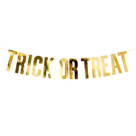 BANNER | trick or treat