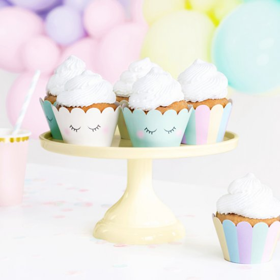 CUPCAKE WRAPPERS | pastell