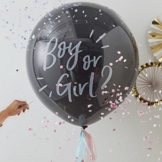 GENDER REVEAL BALLONG | boy or girl