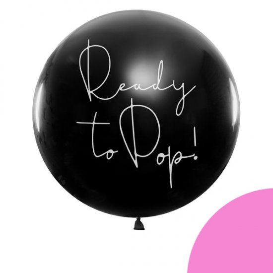 GENDER REVEAL BALLONG | ready to pop - rosa