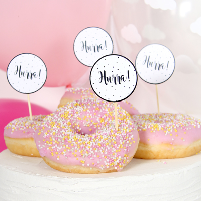 CUPCAKE TOPPERS | hurra