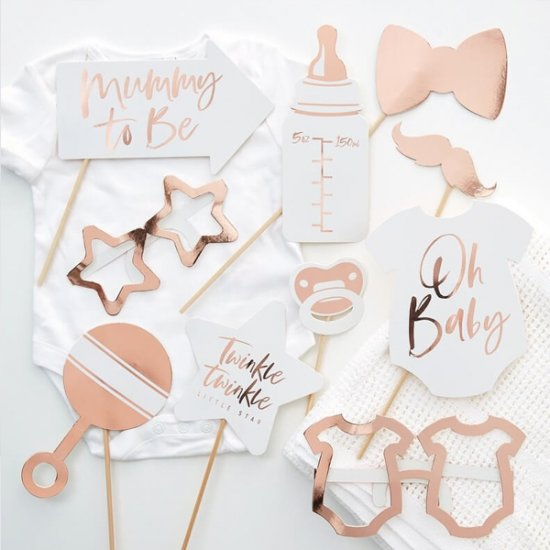 PHOTO PROPS | baby shower - vit & rosé